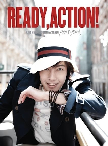 álbum que Kim Hyun Joong lanzó en Japón el mes pasado con las fotos